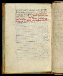 Scribal Colophon, In A Franciscan Collection Of Texts